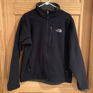 The North Face Black Apex Soft Shell Jacket